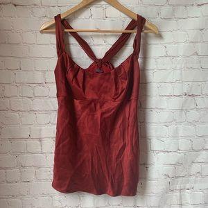 Ann Taylor 100% Silk Tank Top Size 4